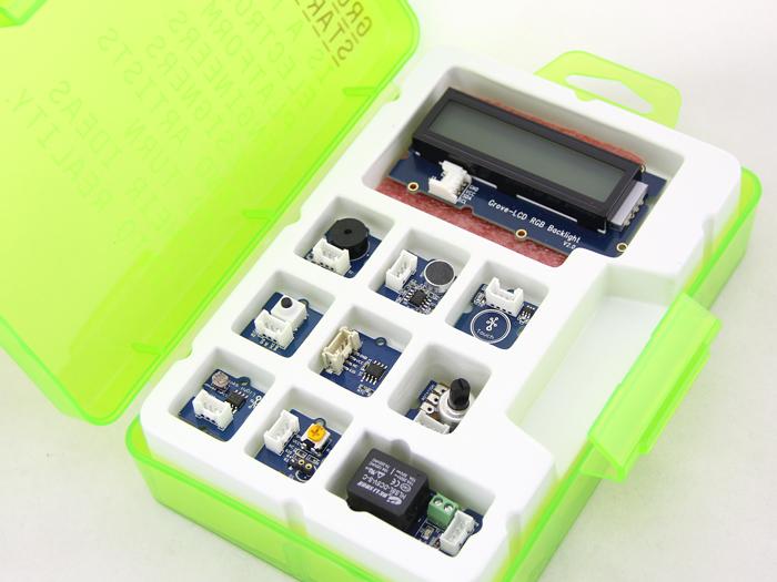 Grove starter kit for arduino v